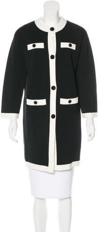 Kate Spade Kate Spade New York Colorblock Knee-Length Coat