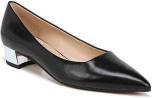 73e8d080af8 Franco Sarto Black Block Heel Pumps - ShopStyle