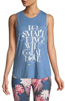 Spiritual Gangster Great Love Muscle Graphic Tank