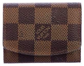 Louis Vuitton Damier Ebene Cufflink Holder