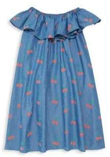Stella McCartney Little Girl's& Girl's Cherry Chambray Dress