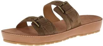 Nine West Women's Ticktock Suede Platform Sandal