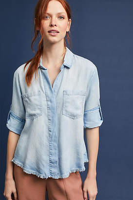 Cloth & Stone Split-Back Buttondown $98 thestylecure.com