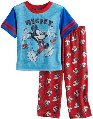 Disney Disney's Mickey Mouse Toddler Boy Top & Bottoms Pajama Set