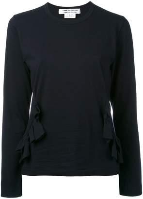 Comme des Garcons frill detail blouse