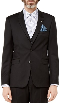 Ted Baker Metraj Debonair Wool Regular Fit Suit Jacket $609 thestylecure.com
