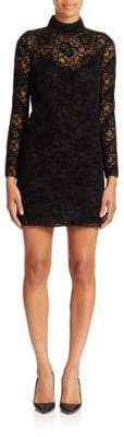The Kooples Long-Sleeve Lace Dress