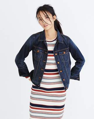 Madewell The Jean Jacket in Briarwood Wash