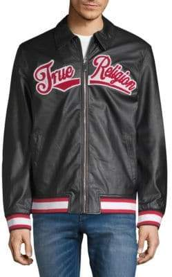 True Religion Logo Bomber Jacket