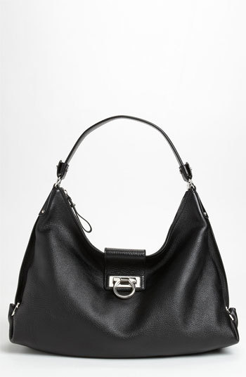 Salvatore Ferragamo 'New Fanisa' Leather Hobo