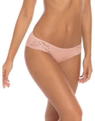 Secret Treasures Women's Microfiber Lace Bikini Panties - 3 Pack