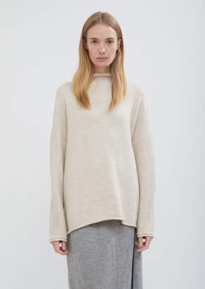 LAUREN MANOOGIAN Baby Alpaca Wool Oversized Rollneck