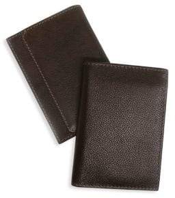 Boconi RFID L-Fold Leather Wallet