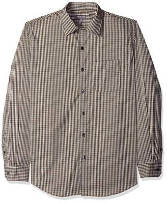 Van Heusen Men's Slim Fit Traveler Stretch Non Iron Long Sleeve Shirt