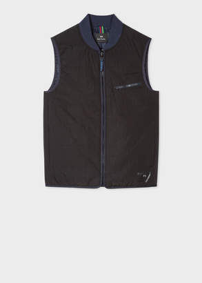 Paul Smith Men's Black Quilted 2-In-1 Gilet Liner