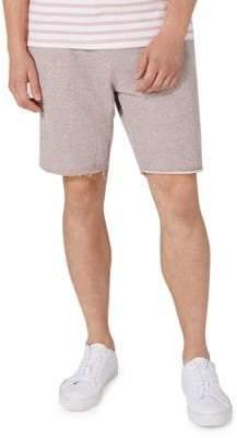 Topman Raw Edge Jersey Shorts