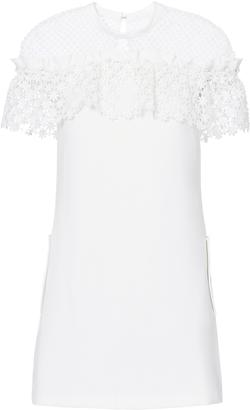 Self-Portrait Lace Upper Mini Dress $445 thestylecure.com