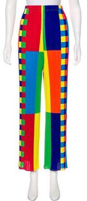 Pleats Please Issey Miyake Plissé High-Rise Pants