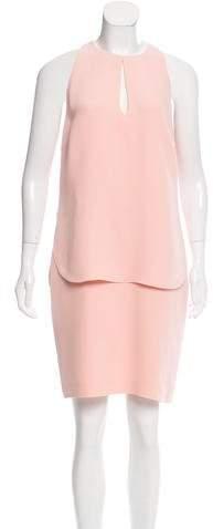 Ralph Lauren Collection Sleeveless Silk Dress