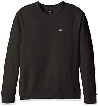 Obey Men's Lofi Crew Neck Fleece Sweatshirt