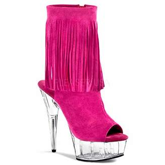 Pleaser USA Women's Delight-1019 Ankle Boot