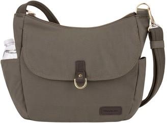 Travelon Anti-Theft Courier Bucket Hobo Bag