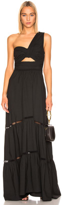A.L.C. Piper Dress in Black | FWRD