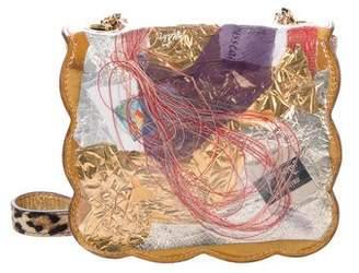 Christian Louboutin Chain-Link Flap Crossbody Bag