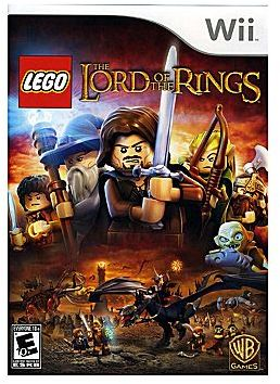 Nintendo WiiTM Lego The Lord of the Rings Video Game