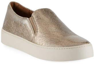 Frye Lena Crackled Platform Sneaker