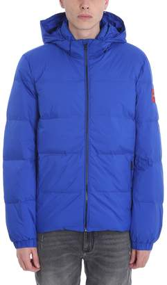 Calvin Klein Jeans Blue Polyester Down Jacket