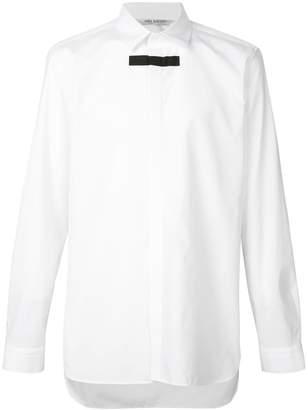 Neil Barrett block stripe print shirt