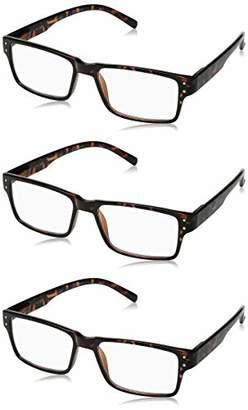 Best Readers Unisex-Adult Rectangle A000250-30001 Rectangular Reading Glasses