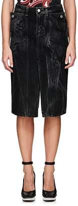 Givenchy Women's Denim Midi-Skirt