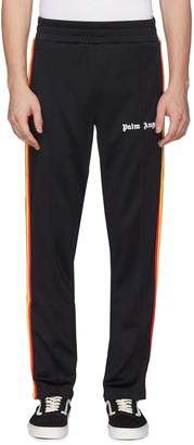 Palm Angels Rainbow stripe outseam track pants
