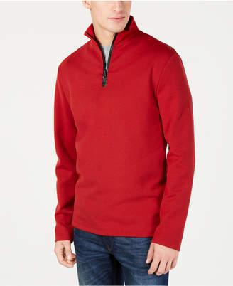 Kenneth Cole New York Men's Regular Fit Half Zip Sweater