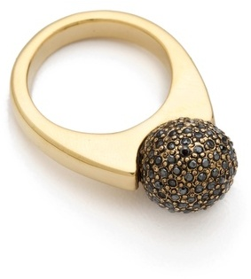 House of harlow 1960 Crystal Orb Ring