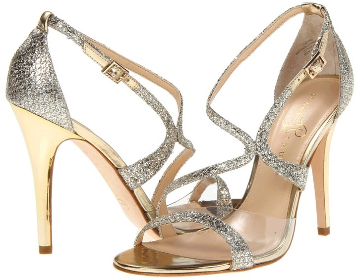 Ivanka Trump Itadara 2 (Gold/Silver Fabric) - Footwear