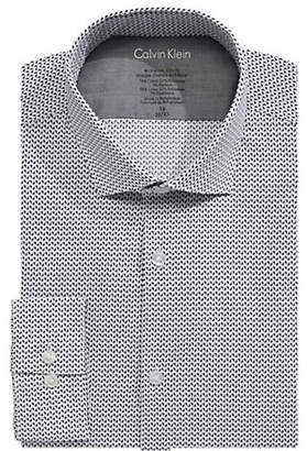 Calvin Klein X-Slim Fit Printed Dress Shirt