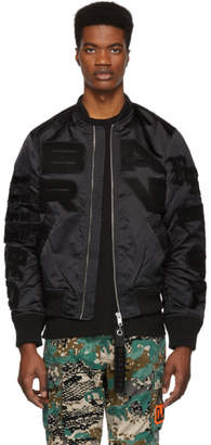 Diesel Black J-Iwaho-Light Bomber Jacket