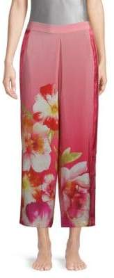 Josie Silk Wide-Leg Pants