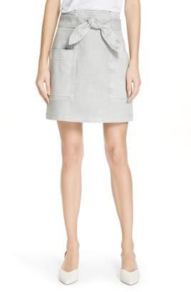 Rebecca Taylor Denim Skirt