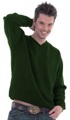 UC204 - - Small - 350GSM Premium V-Neck Sweatshirt
