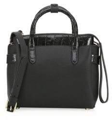 Nancy Gonzalez Cristie Leather& Croc Mini Bag