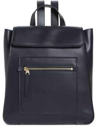 Smythson Bond Small Leather Backpack