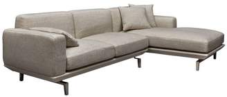 Urbia Pense Chaise Sectional, Beige