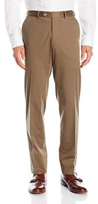 Franklin Tailored Men's Soft Summer Peach Cotton Keene Trouser