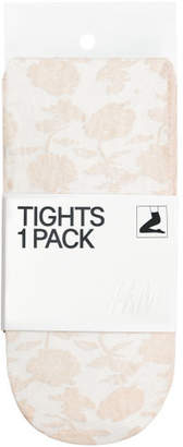 H&M Lace Tights - Beige