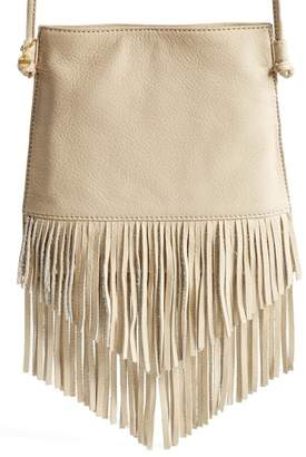 Hobo Meadow Fringe Leather Crossbody Bag