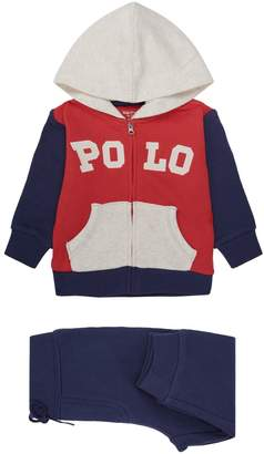 Polo Ralph Lauren Colour-Block Zip-Up Hoodie